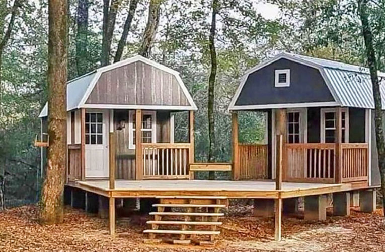 The 'We-Shed' Is a Dual Shed For Him and Her In Aurora