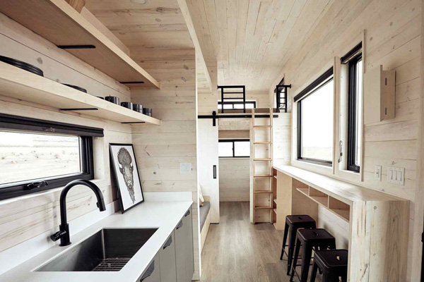 Tiny House Life in Aurora from a Shell Kit